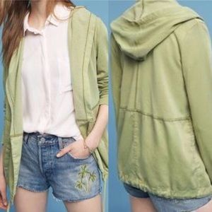 Anthropologie Postmark Anorak Utility Green Jacket